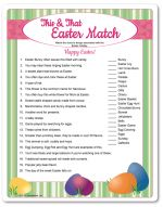 Easter Bunny Left Right Story Easter Games For Adults