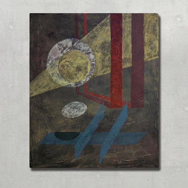 Plato's Light by David Kounovsky (19,7x23,6in, oil on canvas)