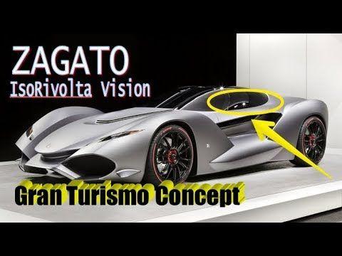 AMAZING.! IsoRivolta Zagato Vision | Gran Turismo Unveiled : is Designed...