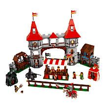 LEGO Kingdoms Joust (10223)  We would have to do this one for Christmas and Birthday for Ben.  Think on that.