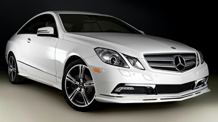 White mercedes e350 coupe just saw this commercial for Mercedes benz coupes list