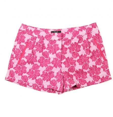 Pantaloni scurti de vara de dama cu flori de la Vila