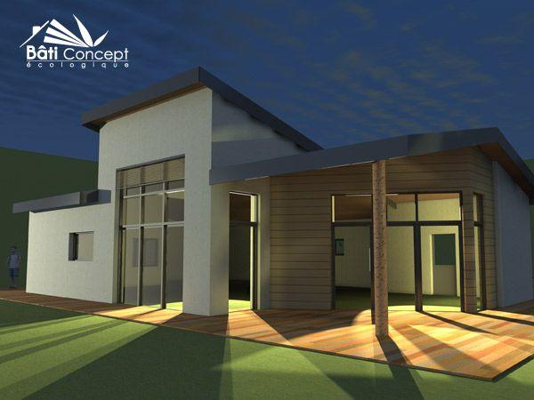 16 best Maison à Ossature Bois images on Pinterest | Building ...