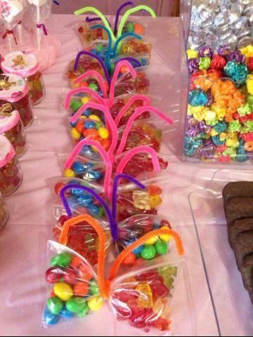 4 Ideen von Süßigkeitstüten für Kinder an Geburtstagen #geburtstagen #ideen