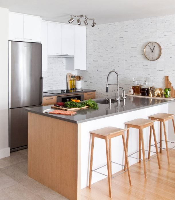 Beautiful Discover The Best Kitchen Design For Small Space With Us. Learn How To  Create The Most Efficient Kitchen Design For Your House In Spite Of Space  Crunch. Part 9