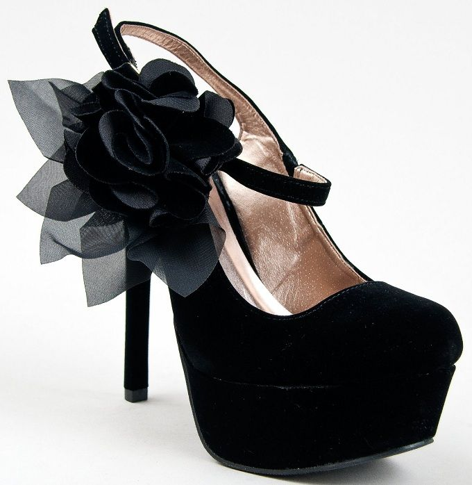 High Heel Pumps Shoes Women | junior teens floral bow high heels shoes with platform pumps for women