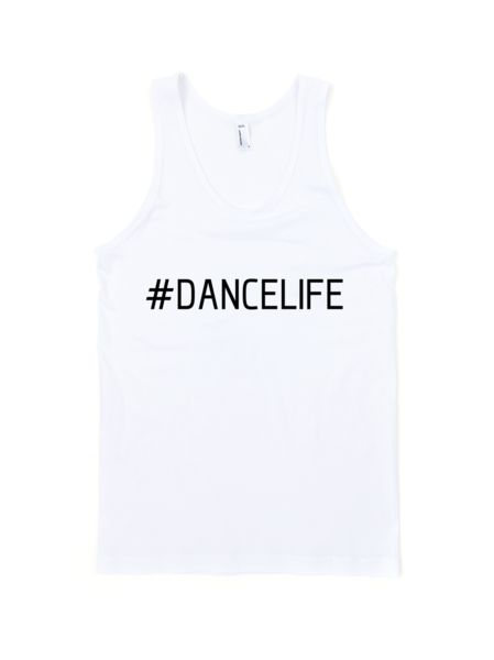 #dancelife tank top!