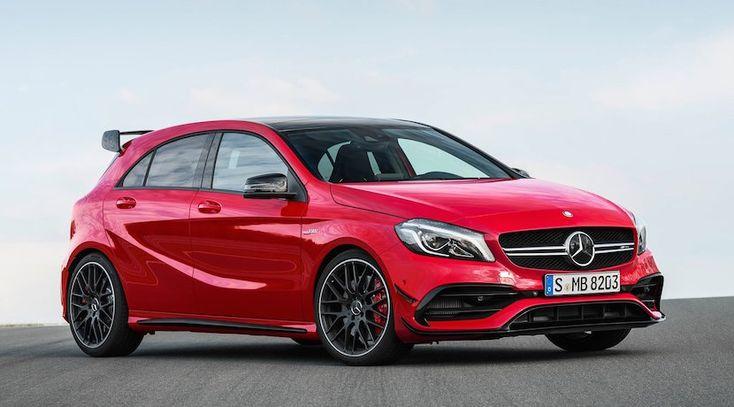 El próximo Mercedes-AMG A45 alcanzará los 400 CV # El Mercedes-AMG A45 es en la actualidad uno de los…