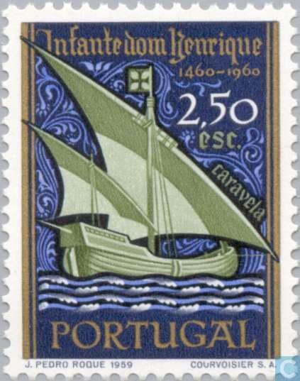 Postage Stamps - Portugal [PRT] - Navigator Henry 500j