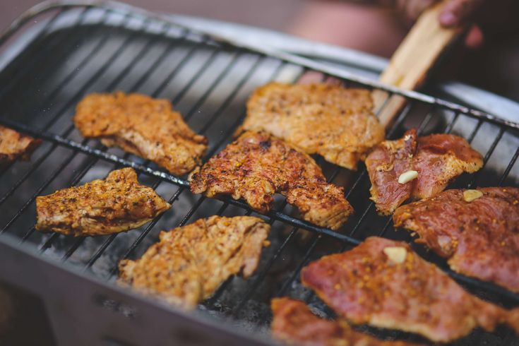 #barbecue #bbq #cooking #dinner #food #grill #grilling #meal #meat #pork #public domain images