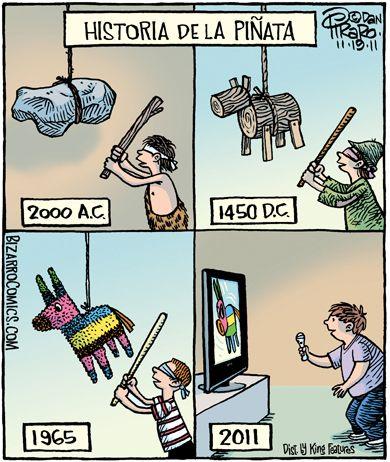Evolución de la piñata!