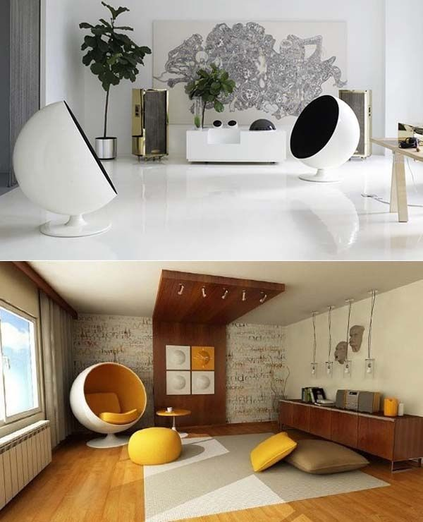 This Quirky Stylish Egg Chair Will Bring A Modern Feel To Your Lounge How