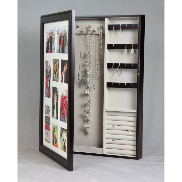 136 best Jewelry Organizer images on Pinterest | Jewelry cabinet ...