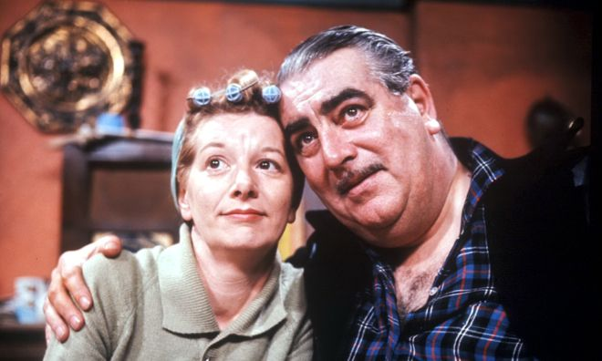 Hilda and Stan Ogden - When Coronation Street was good.