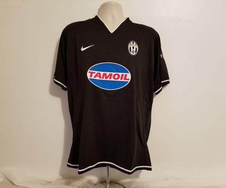 2006/07 Pavel NEDVED #11 Juventus Away Adult Large Black Football Jersey #Juventus