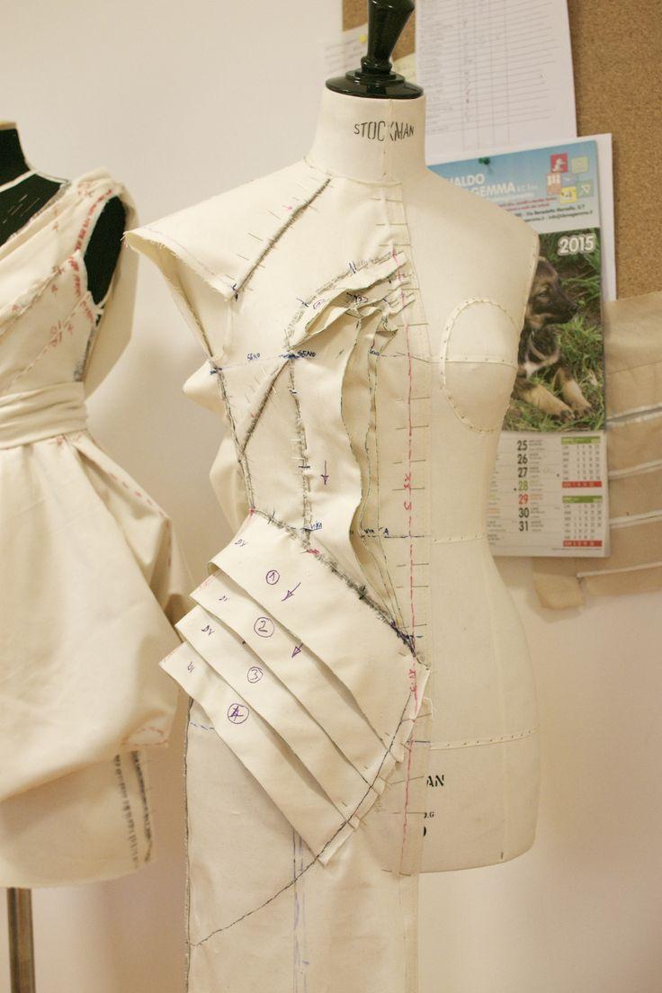 #moulage #drapping #daniloattardi #fashionacademy