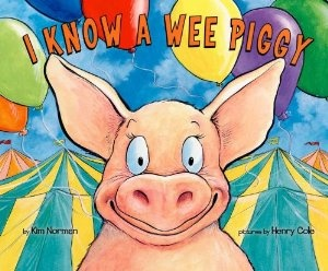 Free printables, too! Preschool Pig Activities with the book I Know A Wee Piggy and Kim Norman