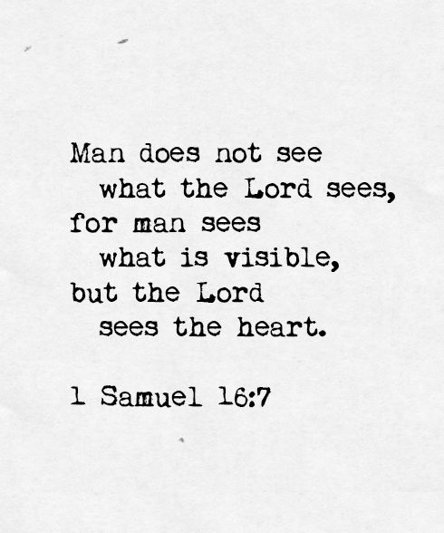 """Strong Love Quotes For Him: But The Lord Said To Samuel, """"Do Not Look On His"""