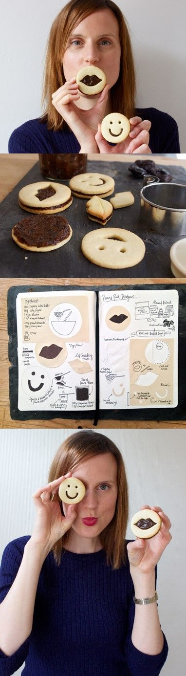 Great British Bake Off Winner Frances Quinn's new recipe for the California Prune Board (Christmas Bake Photography)