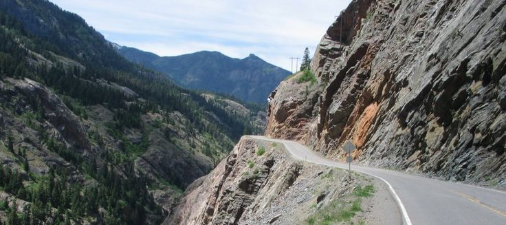 Red Mountain Pass Scary Road Roads Pathways Amp Trails