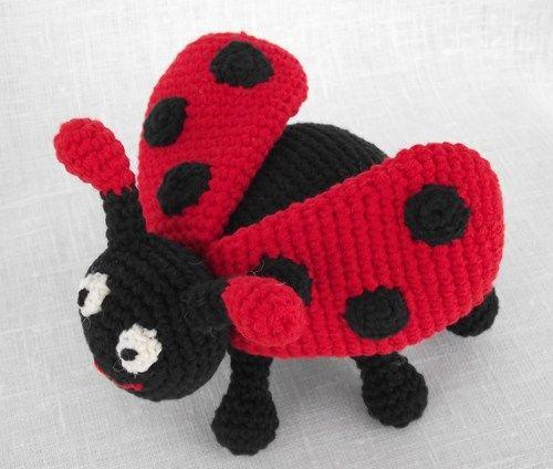 Amigurumi Ladybug, Ladybug Crochet Pattern, Animal Pattern, CP-115 ...