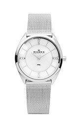 Skagen 3-Hand with Glitz Steel Mesh Women's watch #631SSS Skagen. $96.00. Save 20% Off!