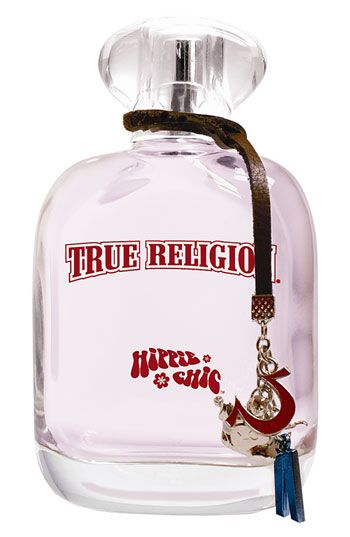 True Religion 'Hippie Chic' is another perfume I have. Not necessarily my favorite, but since I don't like fruity smells this got me to like it. It's a flowery smell, very feminine.