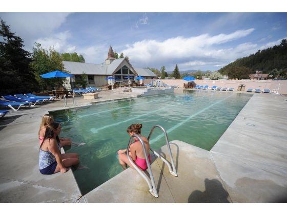 The Swimming Pool At Pagosa Hot Springs Photo