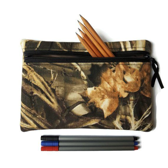 Real tree camouflage Pencil case