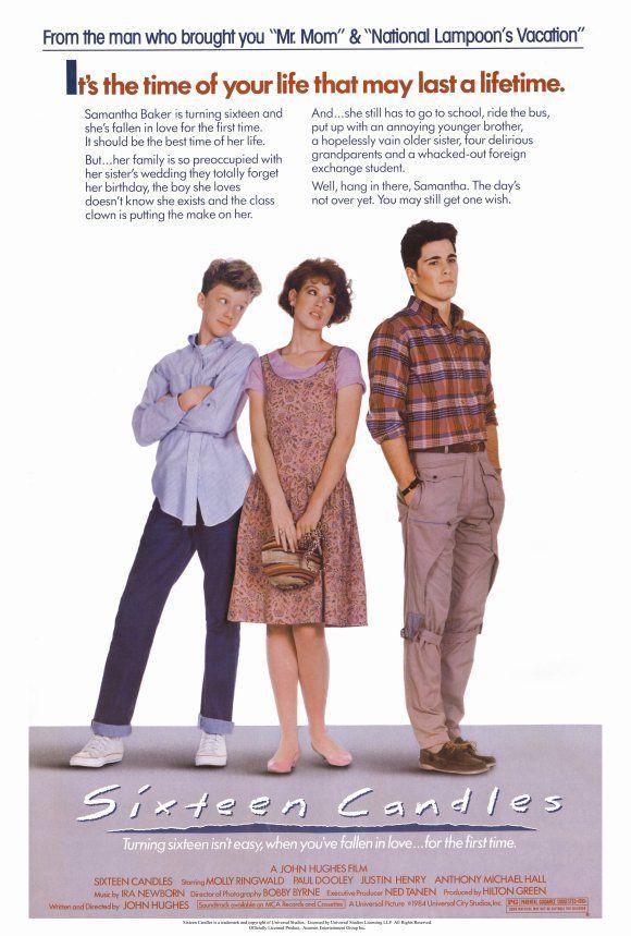 sixteen-candles-movie-poster-1984-1020190218.jpg (580×859 ...