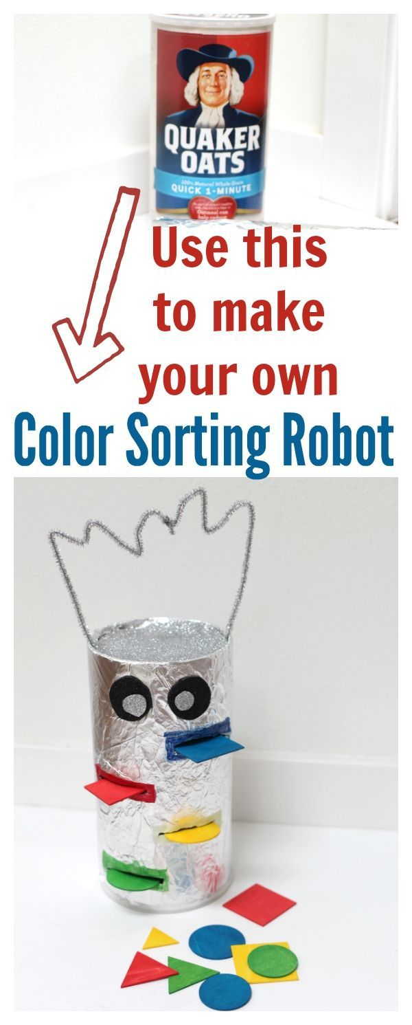 color sorting robot - you will be amazed at how fast you can make this! #sponsored