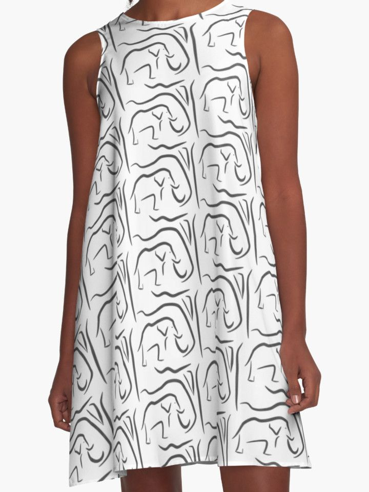 """African Shade"" A-Line Dresses by RobinBCreative 