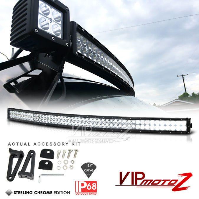 12 best light bars truck jeeps etc images on pinterest led 50 inch 288w curved led smd light bar spot flood offroad atv 4wd jeep truck cree aloadofball Gallery