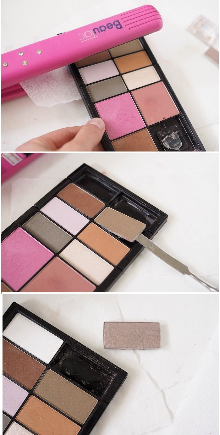 How to depot & fix broken makeup Fix broken makeup