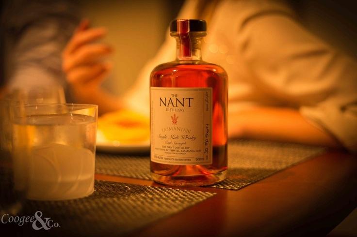 Nant Whisky, Tasmania.  Sherry Cask  single malt Whisky.
