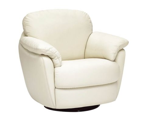 Natuzzi Editions Leather Swivel Glider And Rocker House