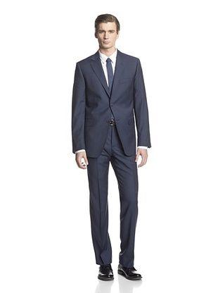 -34,400% OFF Cerruti 1881 Men's Drop 7 Classic Fit Suit (Blue Square)