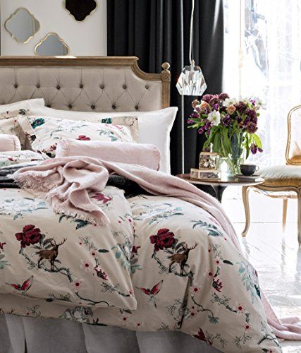Floral Colorful Country Deer Rabbit Birds Print Cotton Duvet Quilt Cover Pillowcase 2pc Set Twin Single Roses (Beige) Duvet Cover Set http://www.amazon.com/dp/B01AO5LY0A/ref=cm_sw_r_pi_dp_T4eNwb1RQ2Y7R