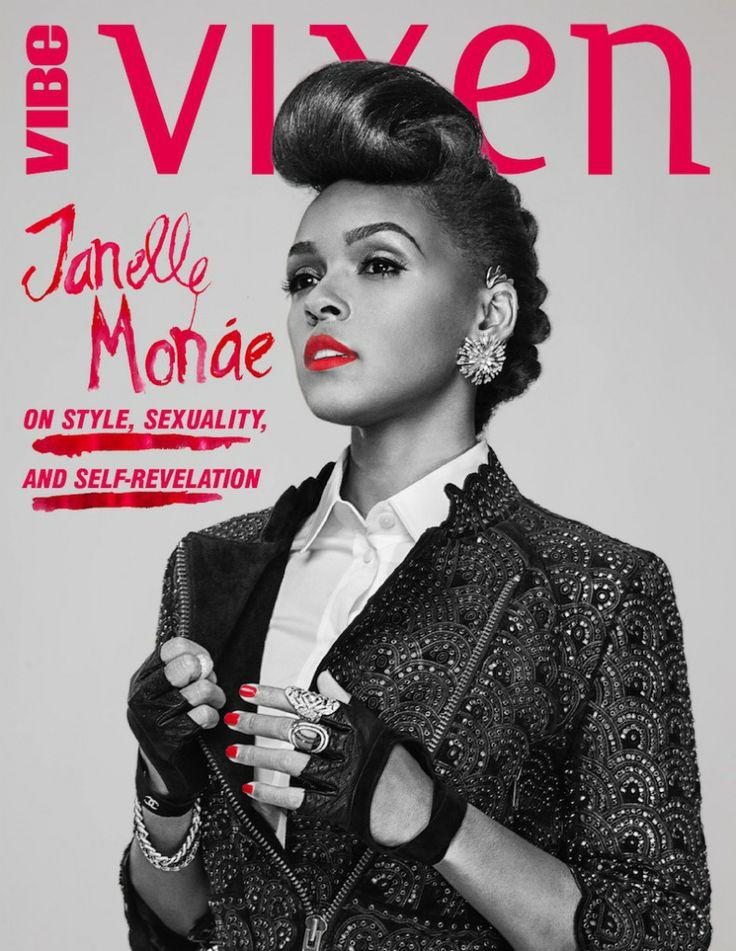 Janelle Monae VIBE cover