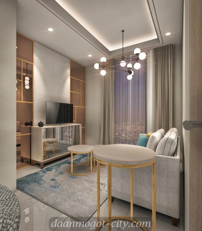 Interior design apartemen Damoci