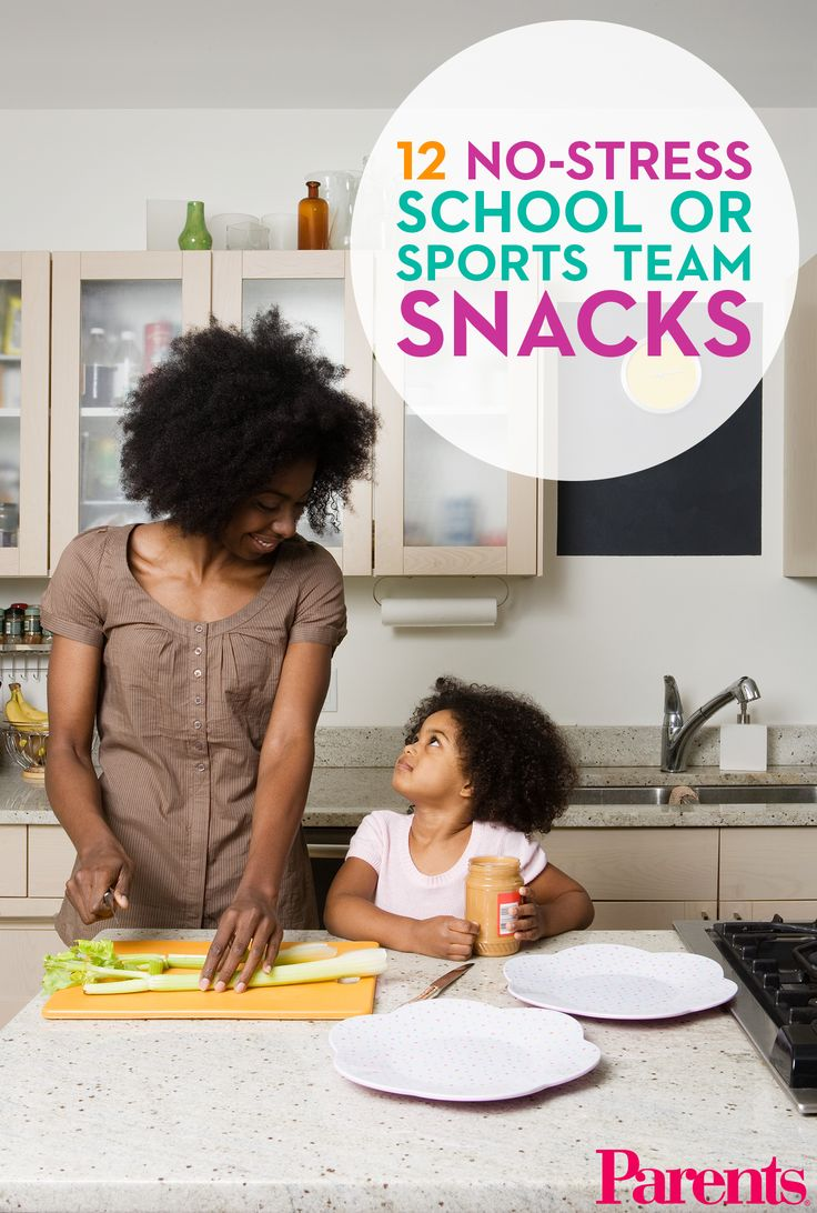When you have to supply the munchies for your kid's class or team, go with one of these easy-to-make snack ideas.