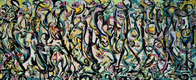 Jackson Pollock, 'Mural,' 1943, Peggy Guggenheim Collection