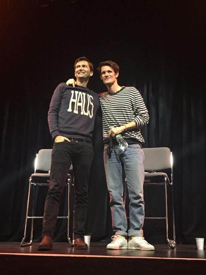 Quick Quotes: David Tennant & Matt Smith's Q&A Panel At Wizard World's The Doctors