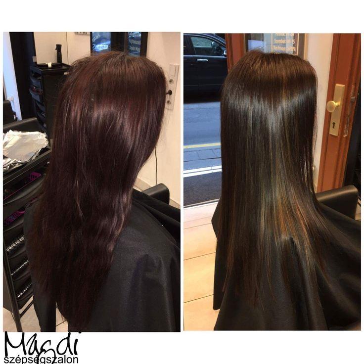 Szeretjük az ilyen szép hajakat, finom puha vele dolgozni :)