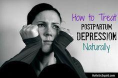 Post Baby Blues?  Treat Postpartum Depression Naturally http://holisticsquid.com/acupuncture-postpartum-depression/