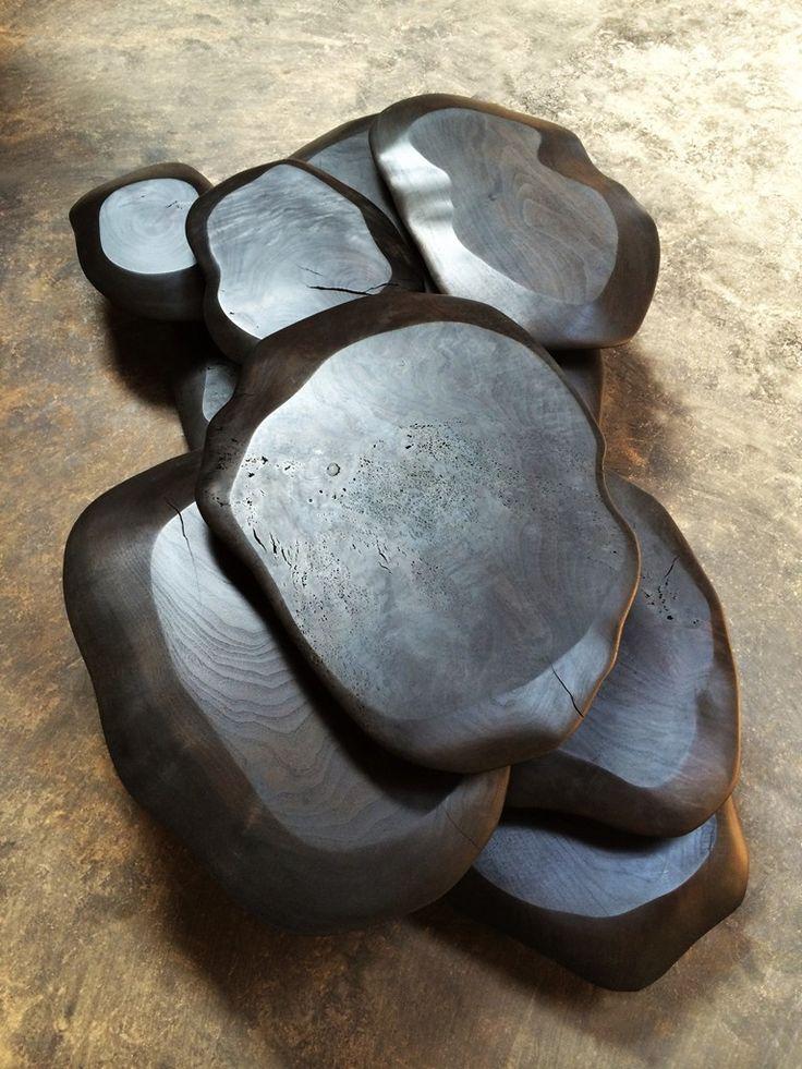 les 9 meilleures images du tableau bois br l sur pinterest bois br l meubles et bois. Black Bedroom Furniture Sets. Home Design Ideas