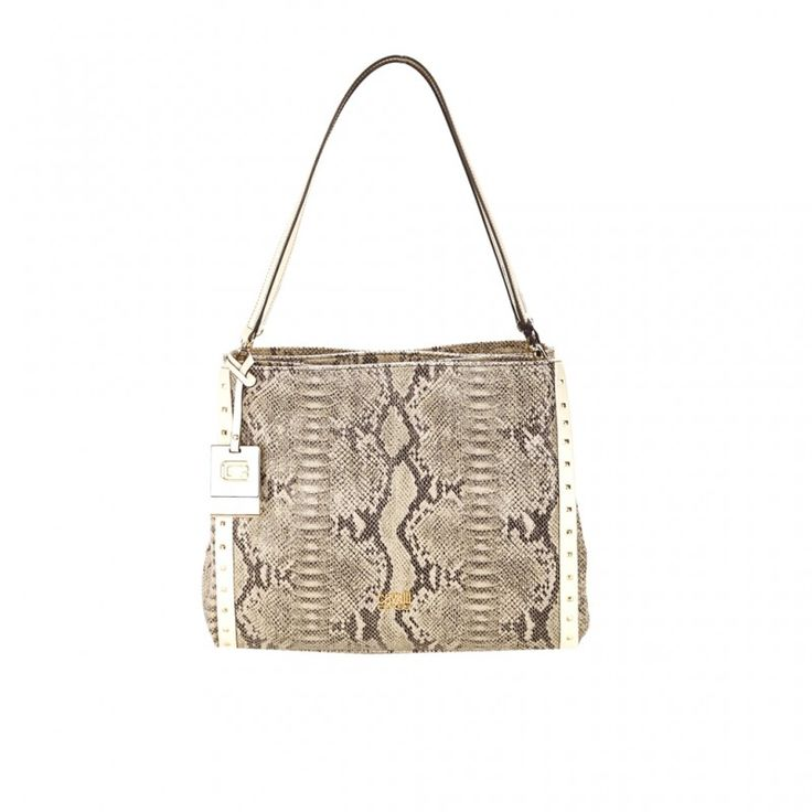#Shopper #CAVALLI Class RIVIERA media a due manici in ecopelle stampa animalier WHITE. Portabiltà a mano e sottospalla. Due tasche laterali e una centrale chiuse da zip. Sottopiedini e rifiniture in metallo dorato. Pendente esterno con logo.  http://modaborse.net/roberto-cavalli/cavalli-class-riviera-borsa-shopping-media-in-ecopelle-animalier-white-751.html