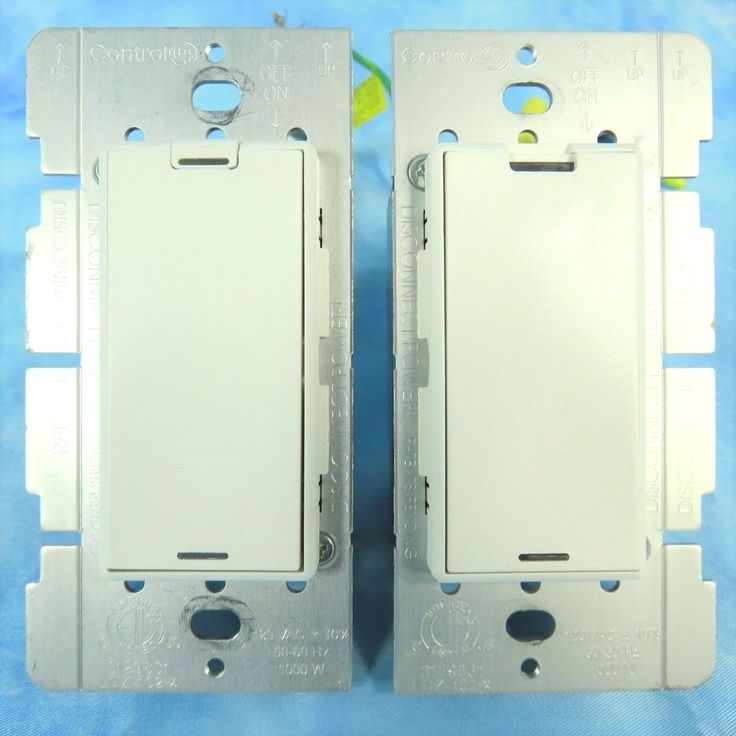 Control4 Wireless Dimmer Switches Set of 2 Control 4 LDZ-102-x WHITE ZigBee Pro #Control4