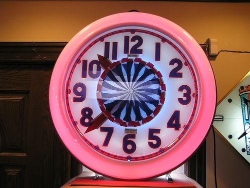 26 Best Images About Neon Clocks On Pinterest John Deere
