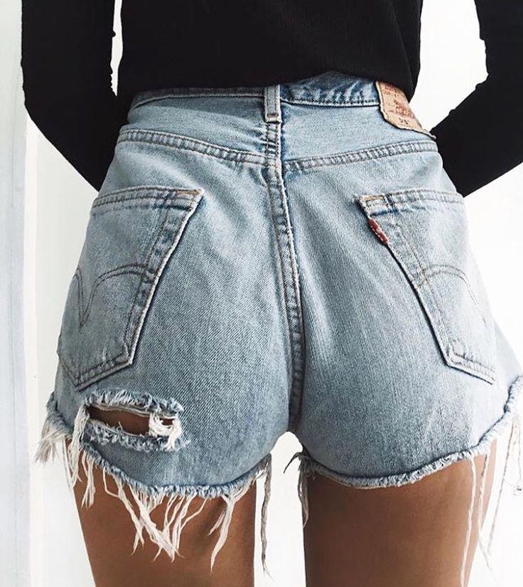 Best 25+ Ripped jean shorts ideas on Pinterest